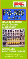 food grade grease Graisse blanche