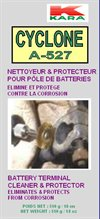Battery cleaner -pôles de batteries