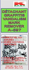 VANDALISM MARK REMOVER DÉTACHANT GRAFFITI