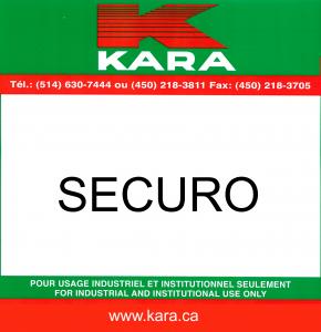 Solvant sécuritaire