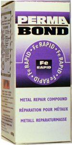 Kit epoxy métallique.